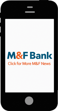 News and information about M&F Bank